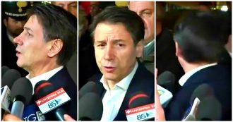 """Ex Ilva, la giornalista a Conte: """"Qui a Taranto per passerella politica?"""". Lui: """"Lo diventa se ci siete voi, non mi seguite per cortesia"""""""