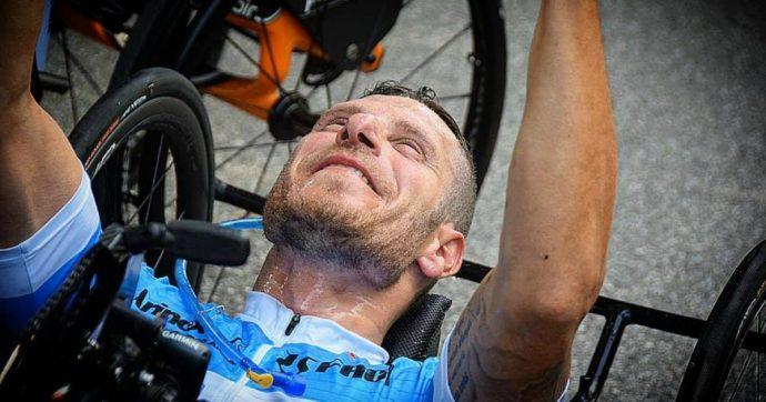 """""""Dopo l'incidente ho scoperto l'handbike e sono rinato. Ora sogno la Nazionale e le Olimpiadi"""""""