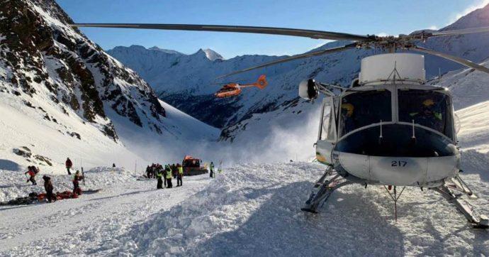 Val Senales, 5 indagati per la valanga sulla pista da sci. Le accuse: omicidio e disastro colposo