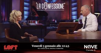 """La Confessione (Nove), Paola Barale a Peter Gomez: """"Le accuse per droga nell'estate 2001? Una montatura per escludermi dalla tv"""""""