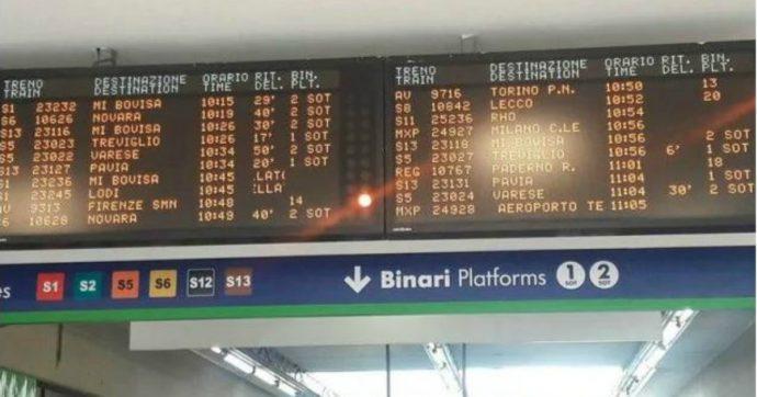 Domenica 24 gennaio sciopero Trenord: le linee dei treni che potrebbero subire variazioni e il sito per la circolazione in tempo reale