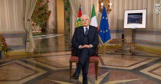 """Mattarella, il discorso di fine anno: """"Italia vera è quella dell'altruismo e del dovere, non quella delle truffe"""""""