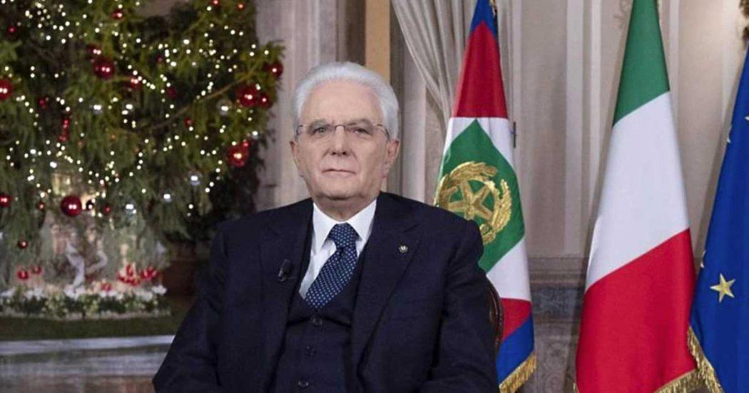 """Mattarella, il discorso di fine anno: """"L'Italia è quella dell'altruismo e del dovere. Non quella di chi truffa"""". Giovani, clima, lavoro, civismo – le parole del Colle"""