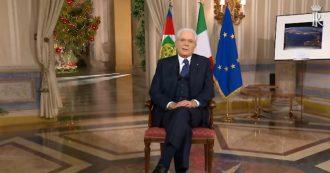 """Mattarella, discorso di fine anno: """"Proviamo a guardare l'Italia come si vede dallo spazio: nostra identità è sinonimo di sapienza e umanità"""""""