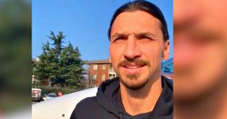 """Milan, Zlatan Ibrahimovic atterrato a Linate: """"Faccio saltare San Siro"""". Cori e 'assedio' dei tifosi rossoneri"""
