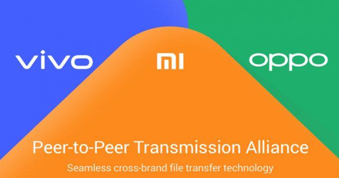 Xiaomi, Oppo e Vivo alleate per semplificare il trasferimento di file tra smartphone Android