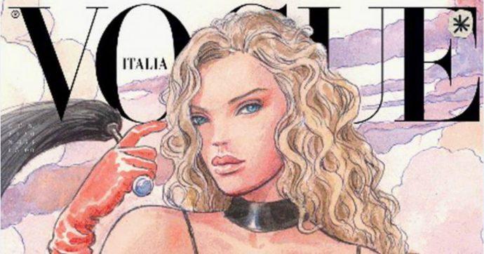 Vogue, in edicola un numero speciale senza foto per aiutare l'ambiente. All'interno solo disegni: tra gli illustratori anche Milo Manara