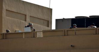 Iraq, razzi caduti vicino ad ambasciata Usa a Baghdad e alla base Al-Balad con soldati americani