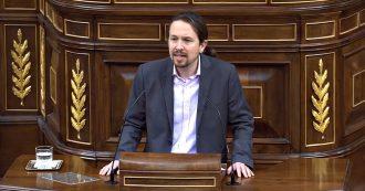 """Spagna, il discorso di Iglesias (Podemos) in Aula per il nuovo governo con Sánchez: """"Giustizia sociale miglior vaccino contro l'estrema destra"""""""