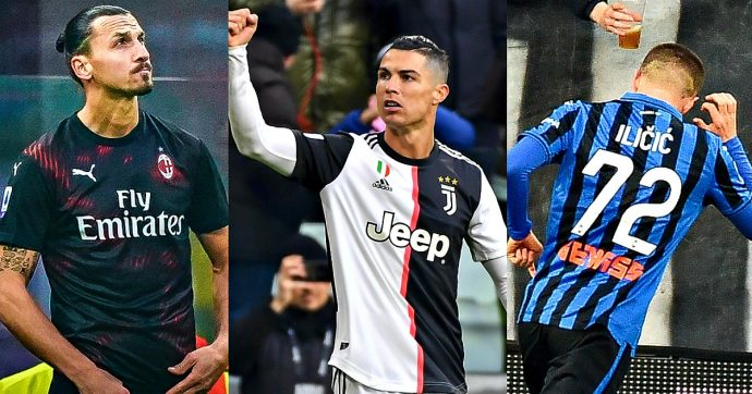 Serie A, Ronaldo stende il Cagliari: la Juve riparte con un 4 a 0. Altro show dell'Atalanta. Al Milan Ibra non basta: 0 a 0 con la Samp