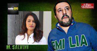 """Sanremo, Salvini: """"Rula Jebreal? Non mi occupo di vallette o conduttori ma i comizi non si fanno sul palco dell'Ariston"""""""