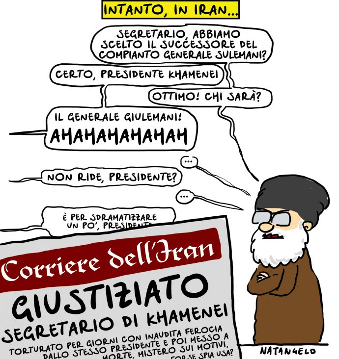 Intanto, in Iran