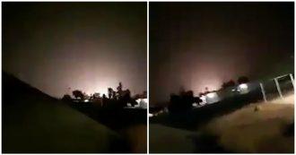 Iran, nella notte la controffensiva: il momento in cui i missili colpiscono una delle basi americane in Iraq