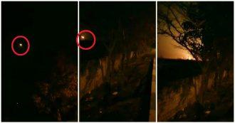 Teheran, Boeing prende fuoco in volo: il momento in cui l'aereo precipita dopo il decollo