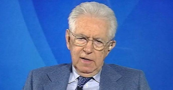 """Monti: """"Recovery fund? Si rischia che gli italiani sviluppino assuefazione all'assistenza"""""""