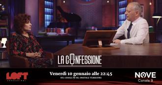 """La Confessione (Nove), Alda D'Eusanio a Peter Gomez: """"Gli spot con Craxi? Io e Mentana rifiutammo e ci cacciarono dal Tg2"""""""