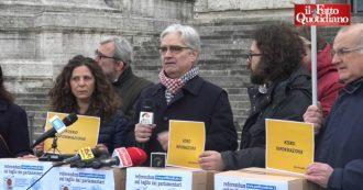 """Referendum contro taglio parlamentari, la raccolta del Partito radicale è un flop: solo 669 firme su 500mila. """"Censurati dai media"""""""