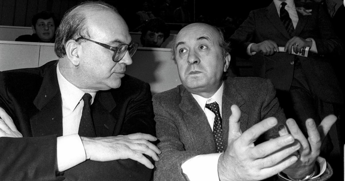 """De Mita al cinema a rivedere Craxi: """"Era proprio lui"""""""