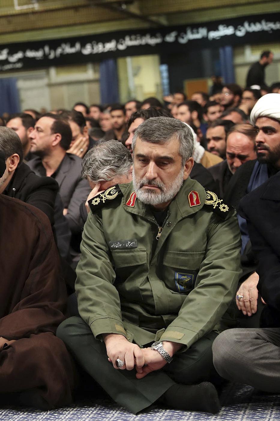 Il generale Amir Ali Hajizadeh, a capo della divisione aerospaziale dei Guardiani della Rivoluzione