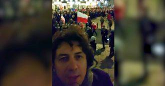 """Polonia, la marcia silenziosa dei magistrati che protestano contro il governo. Cappato: """"L'Europa intervenga"""""""