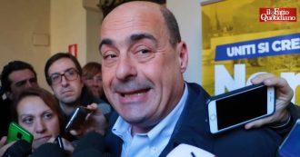 """Pd, Zingaretti: """"Cambiare nome al partito? Lo decideremo. Vinciamo in Emilia, poi congresso"""""""