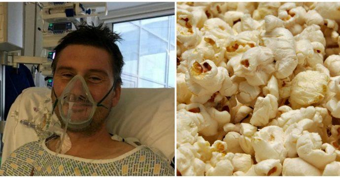 Un popcorn gli resta incastrato fra i denti e gli provoca una grave infezione: operato a cuore aperto
