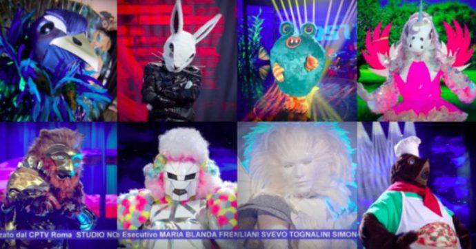 Il Cantante Mascherato, l'Unicorno Orietta Berti canta Gianna Nannini e spiazza tutti. Delude il Mastino