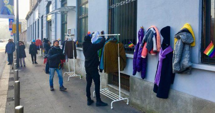 A Milano c'è il 'muro della gentilezza'. Nessuno è mai così povero da non poter aiutare
