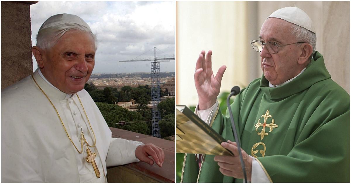 Ratzinger entra in guerra contro Bergoglio. Uno scontro che sa di ricatto
