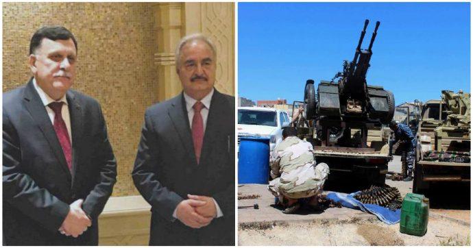 """Libia, Haftar mette il veto sulla Turchia: """"Non possono essere mediatori, non sono neutrali"""". Sarà a Berlino insieme ad al-Sarraj"""