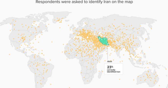 """""""L'Iran? È in Puglia, tra le province di Brindisi e Taranto. Oppure in Alto Adige"""": le risposte degli americani a un sondaggio sulla geografia"""
