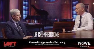 """La Confessione (Nove), Mario Giordano a Peter Gomez: """"Renzi in passato mi confidò di volersi candidare col centro-destra"""""""