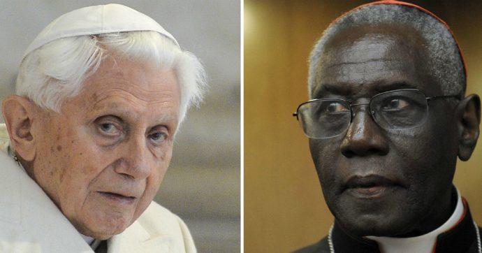 Ratzinger contro i preti sposati, la smentita: 'Mai scritto libro con Sarah'. E chiede di ritirare la firma. Il cardinale: 'Falso, lui sapeva'