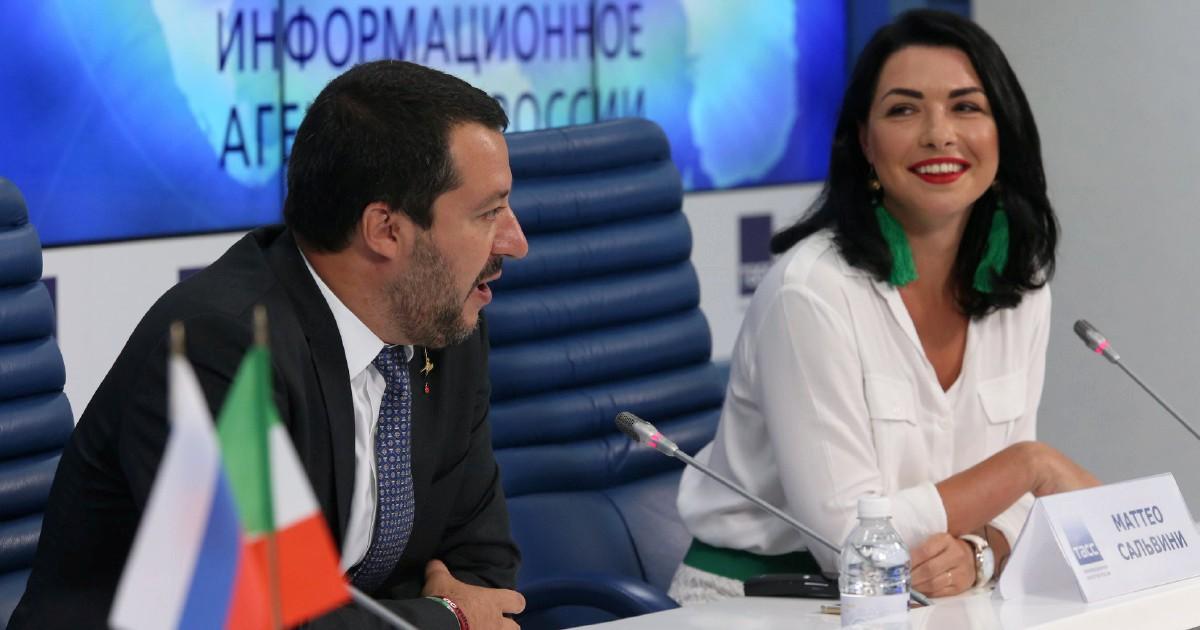 """Irina ai pm: """"Ero con Salvini la sera prima del Metropol"""""""