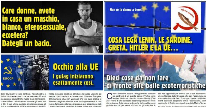 """Milano, giornalino parrocchiale pubblica tesi omofobe e razziste: i gay """"sodomiti che si scambiano Aids"""" e Greta Thunberg è nazista"""