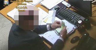 Corruzione, otto arresti tra cui un magistrato: lo scambio di mazzette. E nel video gli indagati contano i soldi