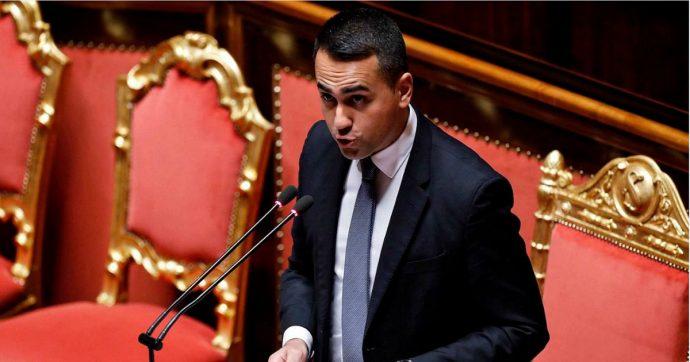 """Di Maio al Senato: """"L'Italia non interverrà militarmente in Libia"""". Ok a missione di pace internazionale, anche con soldati italiani"""
