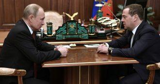 Russia, si dimettono il premier Medvedev e tutti i ministri. Putin pronto a lasciare la presidenza nel 2024