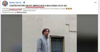 """Sardine, Salvini pubblica video e deride ragazzo dislessico: """"Guardate come sono impacciati"""". La replica: """"Cyberbullismo inaccettabile"""""""