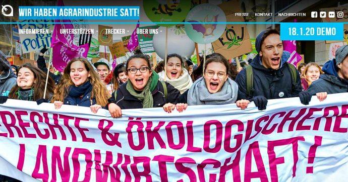 """Trattato Ue-Mercosur, gli agricoltori tedeschi in piazza: """"È in contrasto con le politiche per il clima siglate dalla stessa Europa"""""""