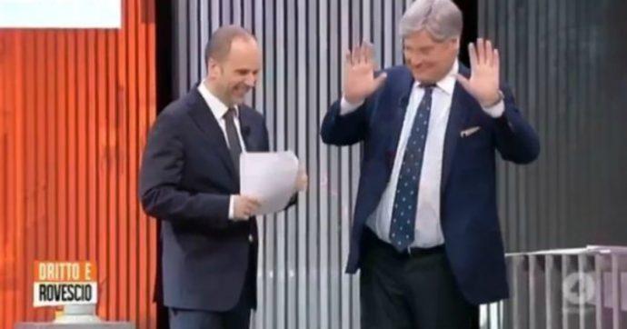 """Dritto e rovescio, Paolo Del Debbio abbandona la conduzione in diretta: """"Non riesco a stare in piedi"""""""