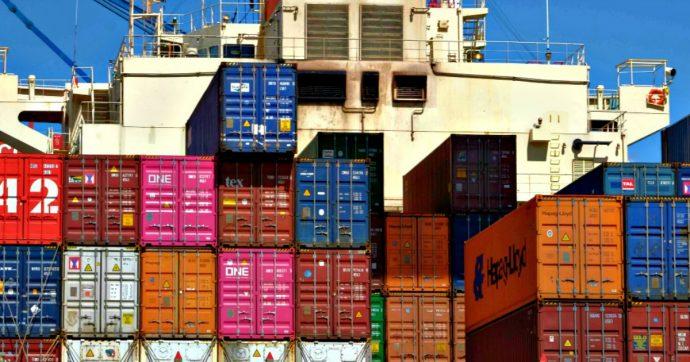 """Commercio estero, a novembre export giù del 4,2%: mai così male dal 2011. Istat: """"Influenzato dalla cantieristica navale"""""""
