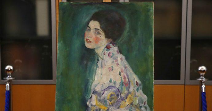 Piacenza, il quadro trovato nel giardino della Galleria è un Klimt scomparso vent'anni fa: la tela è autentica