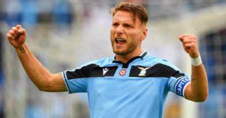 Lazio-Sampdoria 5-1, i biancocelesti infilano l'11esima vittoria consecutiva: tripletta di Ciro Immobile, più Caicedo e Bastos