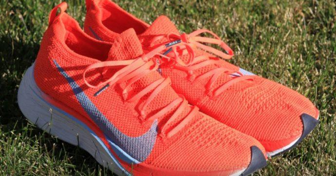 """Nike Vaporfly, le """"super scarpe da running"""" forse vietate alle Olimpiadi: ecco perché"""