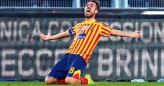Serie A, l'Inter frena a Lecce: solo 1-1 per Conte. Pari anche in Brescia-Cagliari e Bologna-Verona. La Roma vince a Genova