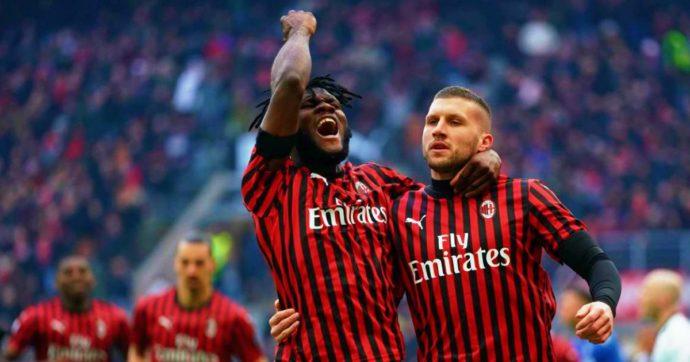 Milan-Udinese 3-2, San Siro aspetta Ibra ma spunta Rebic: la doppietta del croato piega i friuliani al 93esimo ed evita il passo falso