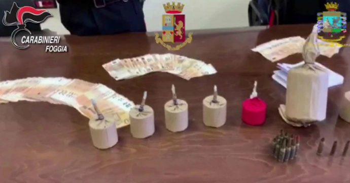 """Foggia, maxi operazione antimafia: 3 persone fermate per tentata estorsione. """"Sequestrate 11 bombe e agenda con nomi vittime e cifre"""""""