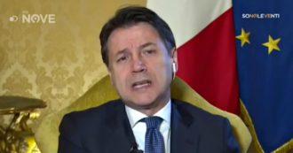 """Sono le Venti, Conte sul Nove: """"Gregoretti? Ho già chiarito mio coinvolgimento. Salvini ha rivendicato sua competenza specifica su sbarco"""""""