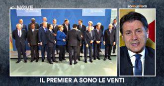 """Sono le Venti, Conte sul Nove: """"Libia? Sciocco giudicare il ruolo dell'Italia da una foto. Noi e Francia unici paesi Ue invitati a Berlino"""""""